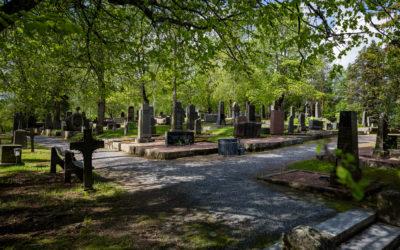 Eri uskontokuntaan kuuluvien ja uskontoon kuulumattomien hautaus